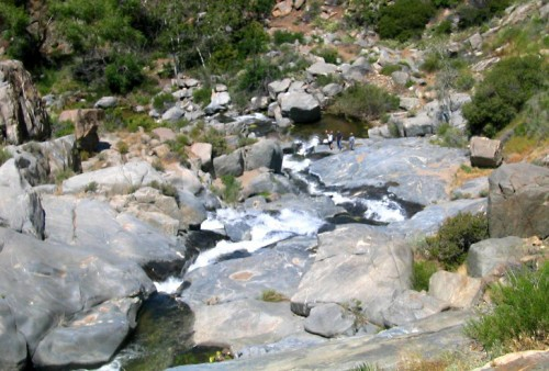 hidden waterfalls san diego backcountry